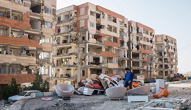 خسارت زلزله کرمانشاه
