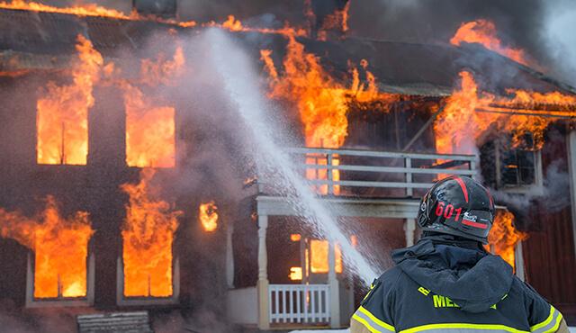 بیمه آتش سوزی آپارتمانها