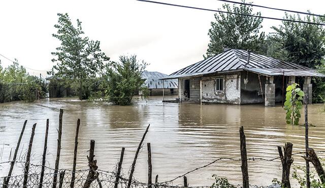 خسارت سیل استان های گیلان و مازندران